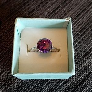 Jewelry - 925 Amethyst (simulated stone) women size 6